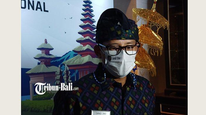 Sandiaga Pahami Keinginan Pemprov, Larangan Mudik, Termasuk Berwisata ke Bali