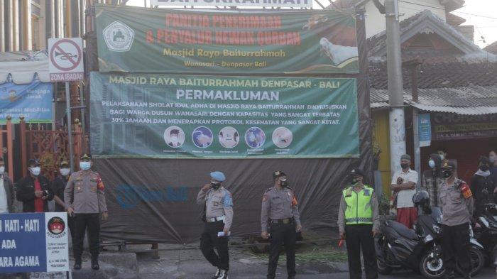 Hari Raya Idul Adha, Polresta Denpasar Lakukan Pengamanan di Ratusan Titik Masjid dan Musala