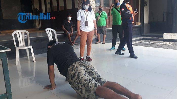 Sebanyak 23 Pelanggar Masker Terjaring Razia di Sesetan, Kasatpol PP: Pelanggar Meningkat