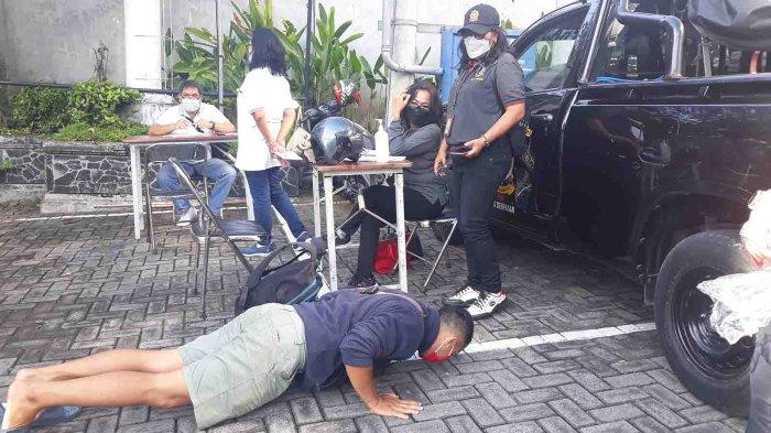 Sidak Masker di Pemecutan Kelod Denpasar, Hanya Terjaring 5 Pelanggar Masker