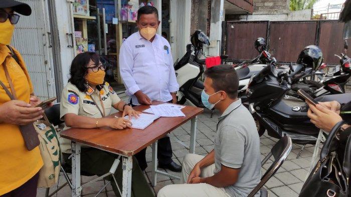 17 Pelanggar Masker Terjaring Razia di Kelurahan Panjer, Dikenai Sanksi Berupa Denda dan Pembinaan