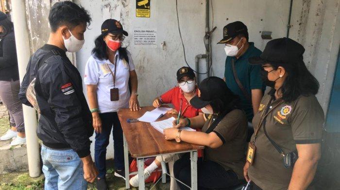 Sidak Prokes di Kelurahan Dauh Puri Denpasar Bali, 16 Pelanggar Dirapid Antigen, Ini Hasilnya