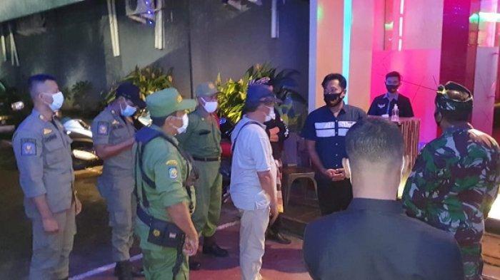 Sidak Prokes Saat Malam di Pemecutan Kelod Denpasar, Ditemukan 5 Pelanggar
