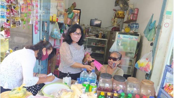 Penerapan PKM Hari Keempat, Diskop UMKM Denpasar Sidak Warung dan Pedagang Kaki Lima