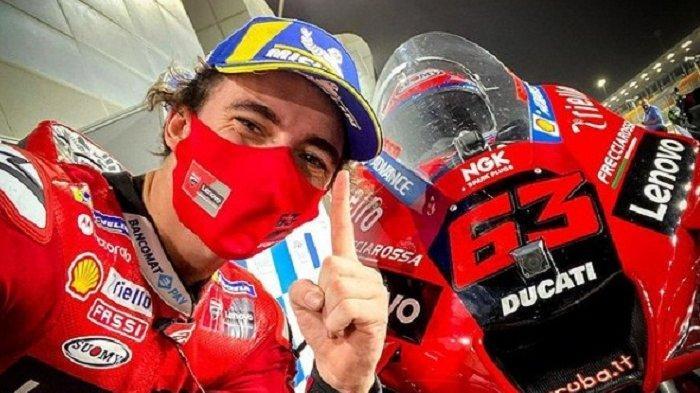 Hasil Lengkap Pole Position dan Jelang Race MotoGP Qatar 2021, Bagnaina: Saya Hampir Tak Percaya