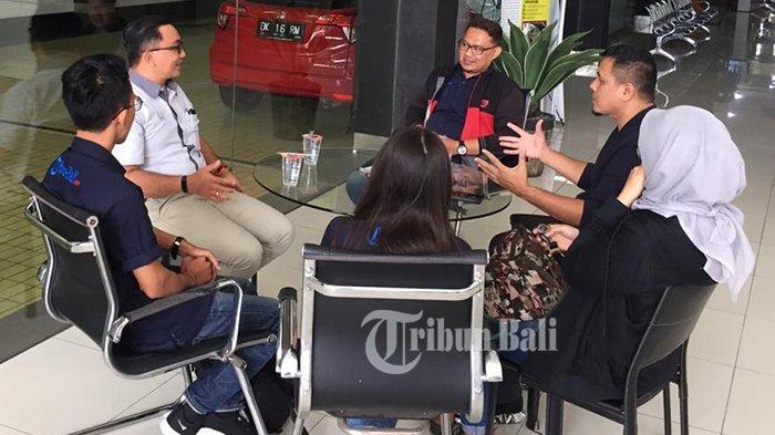 Simakrama Tribun Bali ke Honda Kuta Raya, Bahas Perkembangan Terkini Dunia Otomotif