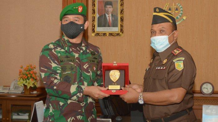 Pangdam IX/Udayana Kunjungi Kejati Bali, Bahas Pencegahan Covid-19 hingga Kejahatan Pidana