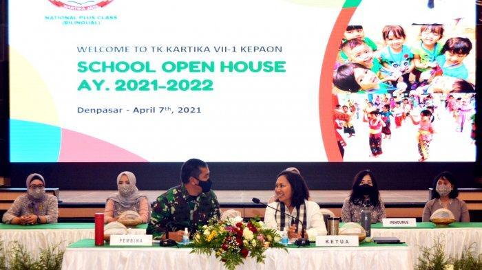 Pangdam IX/Udayana Beserta Istri Bertekad Tingkatkan Kualitas Pendidikan Keluarga Besar TNI