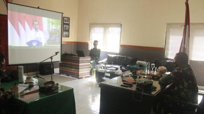 Pangdam IX/Udayana Ikuti Rakornas Penanggulangan Bencana 2021, Terjadi 3.253 Bencana Dalam 1 Tahun