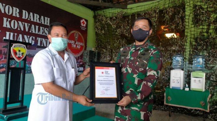 Stok Plasma Darah Konvalesen Kosong di PMI Provinsi Bali, Kodam IX/Udayana Adakan Donor Konvalesen