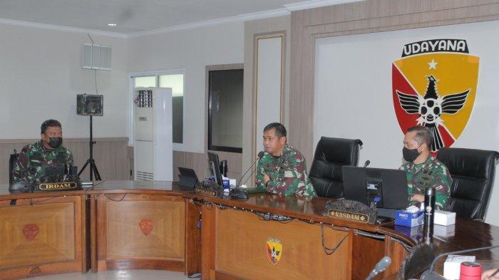 Isolasi Mandiri Tak Maksimal, Pangdam IX/Udayana : TNI Harus Jadi Ujung Tombak Penanganan Covid-19