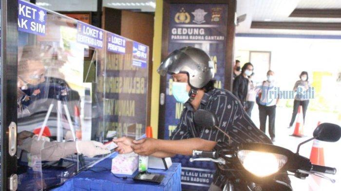 BREAKING NEWS - Permudah Perpanjangan SIM, Polres Badung Launching Pelayanan SIM Drive Thru