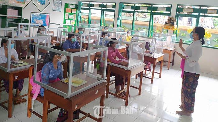 Rencana Pembelajaran Tatap Muka Kembali Dirancang di Jembrana Bali