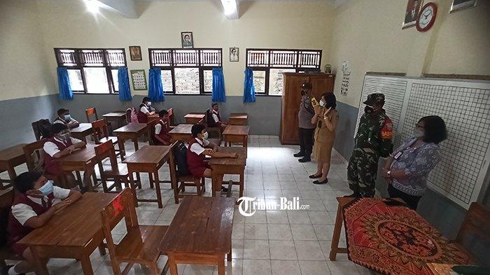 Sebelum PTM, Semua Sekolah di Badung Wajib Lakukan Simulasi Pembelajaran