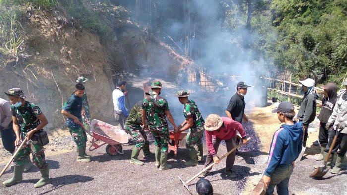 Kapendam IX/Udayana Sebut TMMD ke-112 di Bangli Bagaikan Gali Mutiara Terpendam