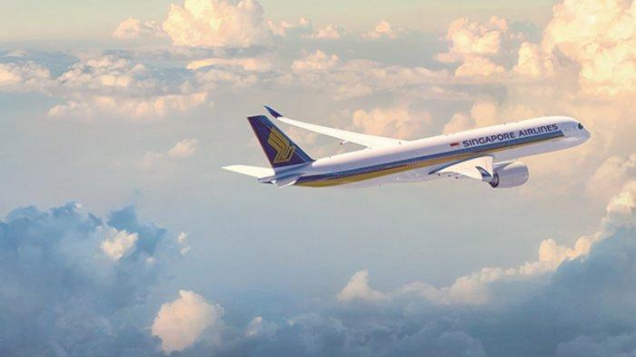 Pesawat Singapore Airlines A350-900 Medium Haul Terbaru Layani Penerbangan Singapura- Jakarta