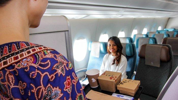 Singapore Airlines Tawarkan Variasi Menu Utama Baru pada Penerbangan Jarak Pendek