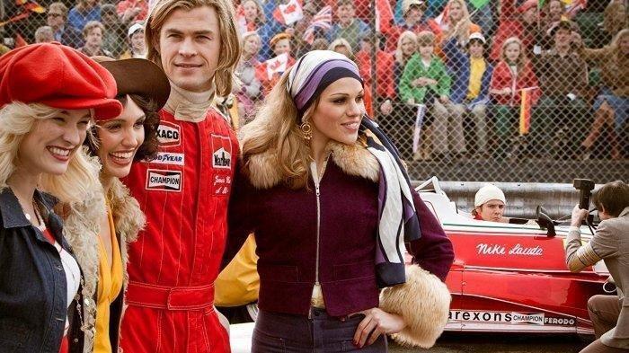 SINOPSIS Film Rush: Tayang Malam ini Pukul 19.30 WIB di TransTV, Kisah Persaingan Pebalap Formula 1