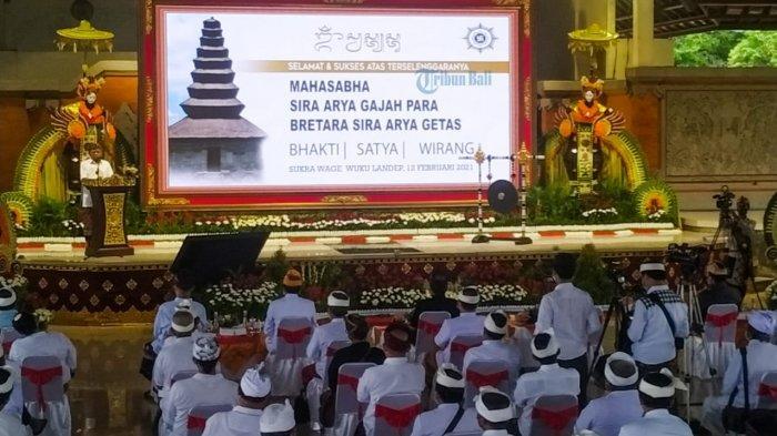 Mahasabha Sira Arya Gajah Para Bratara Sira Arya Getas Digelar di Klungkung Bali