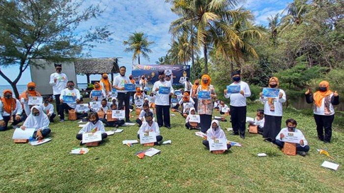Siswa Asuh Sebaya Banyuwangi Bantu 1.300 Teman Kurang Mampu di Tengah Pandemi