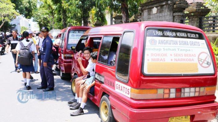 Jelang PTM di Klungkung, Anggaran Angkutan Siswa Hanya Cukup 14 Hari, Sucitra: Sekitar Rp 243 Miliar