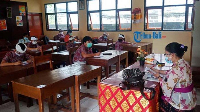 SDN 5 Kawan Terapkan PBM Daring Pola Ganjil Genap, Budiani Akui Lebih Efektif