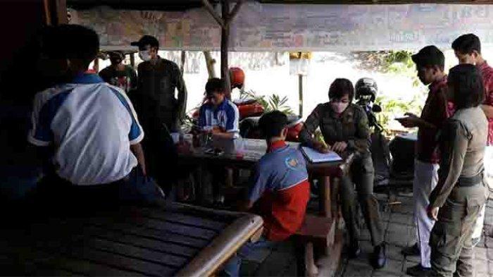 PTM Dibuka, Sejumlah Pelajar di Jembrana Terjaring Sedang Main Bilyard