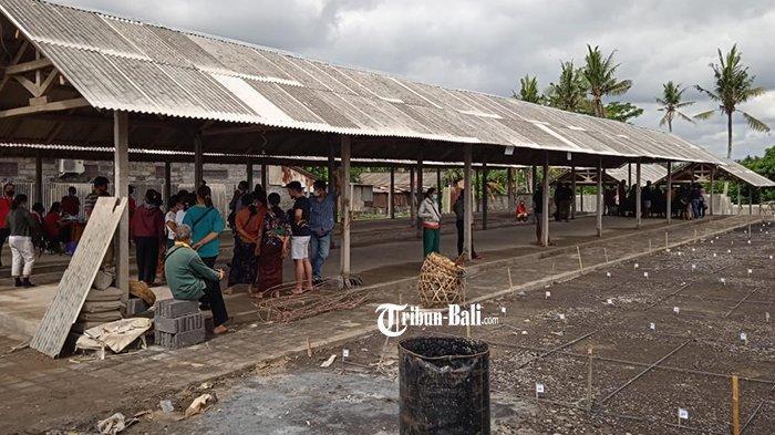 Pasar Relokasi Korban Kebakaran Tuntas, Tampung 604 Pedagang Pasar Blahbatuh Gianyar