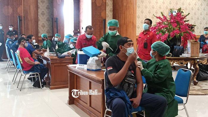 Seminggu Kedepan, Dinkes Badung Akan Selesaikan Vaksinasi Covid-19 Untuk 7 OPD, DPRD dan Awak Media