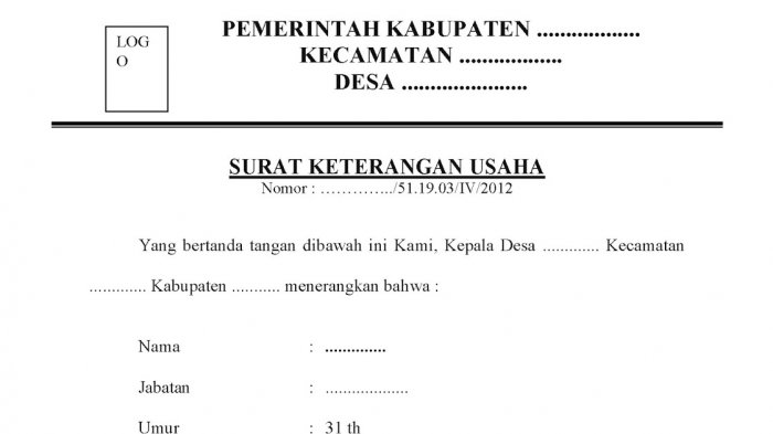 Cara Mengurus Surat Keterangan Usaha Di Sidakarya Gratis Tribun Bali