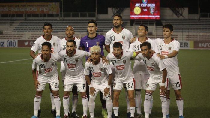 Bali United Segera Berlatih Awal Februari 2021, Ini Calon Lawan di Grup G Piala AFC2021