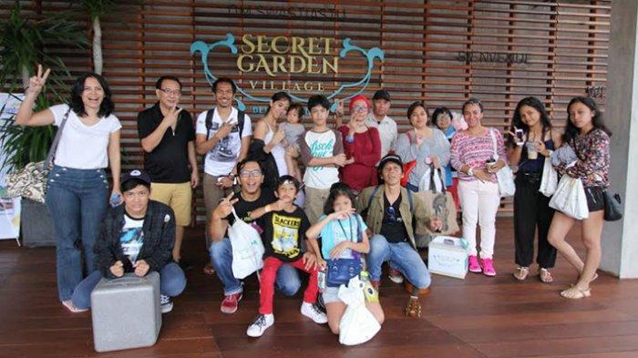 Slank Kunjungi Secret Garden Village Bedugul Wisata Edukasi Dan Tempat Yang Bagus Untuk Keluarga Tribun Bali