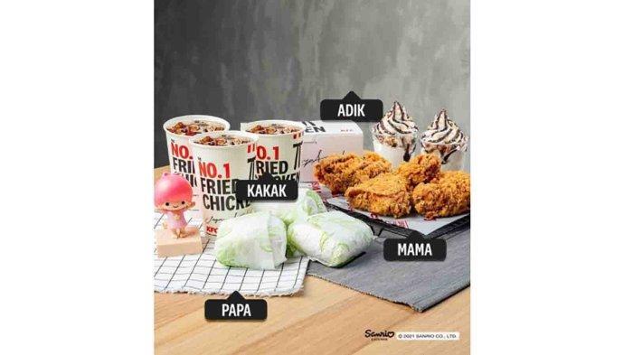 MAKAN HEMAT BARENG KELUARGA, PROMO KFC Hari Ini 26 September 2021, Smart Family Deal Cuma 107 Ribu