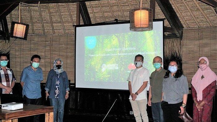 TNBB Jajaki Kerjasama Pemanfaatan Teknologi Kecerdasan Artifisial untuk Pengawasan Hutan
