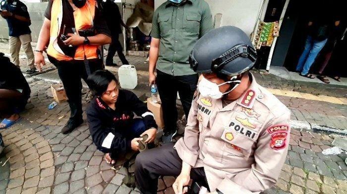 Pelajar SMK di Demo UU Cipta Kerja Ditangkap, Diduga Kelompok Anarko, Rekaman Suara Ini Terungkap