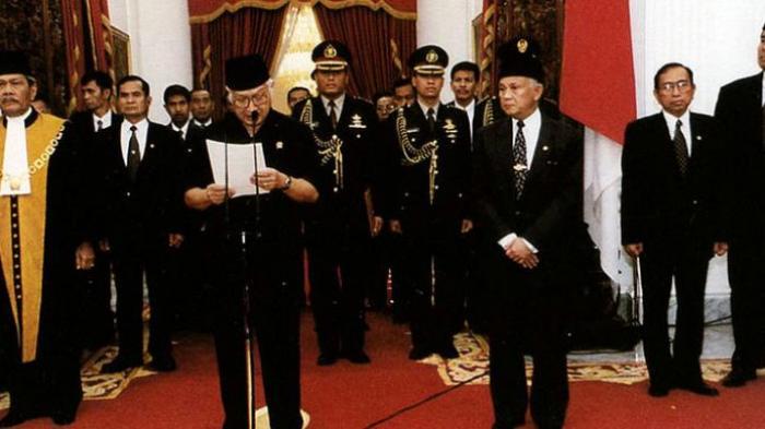 Soeharto Sudah Siapkan Pengganti Sebelum Mundur dari Jabatannya, Siapa Orang Itu?