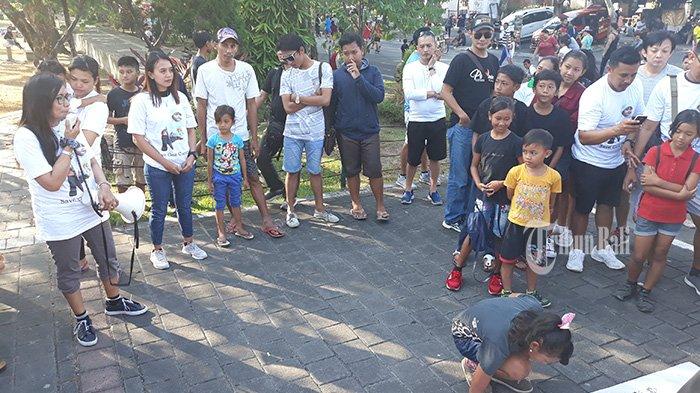 Aksi Solidaritas Kasus Gek Candra, Keluarga Harap Dukungan Masyarakat