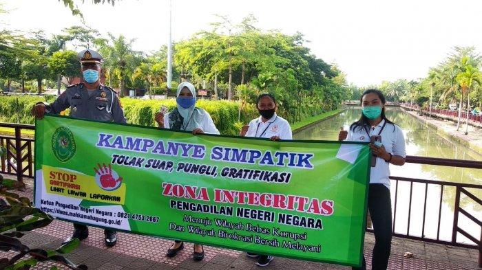 PN Negara Jembrana Bali Ajak Masyarakat Hilangkan Pungli