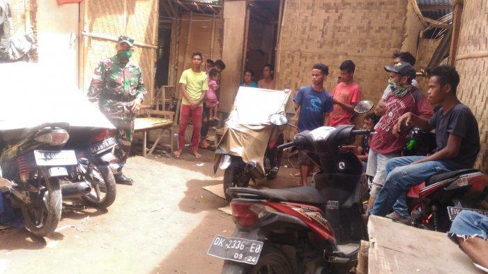 Aparat TNI AD di Gianyar Ajak Warga Pendatang Turut Perangi Covid-19 di Bali