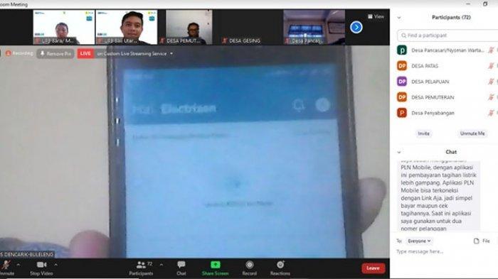 PLN UID Bali Gandeng Perbekel Se- Kabupaten Buleleng Promosikan Aplikasi New PLN Mobile