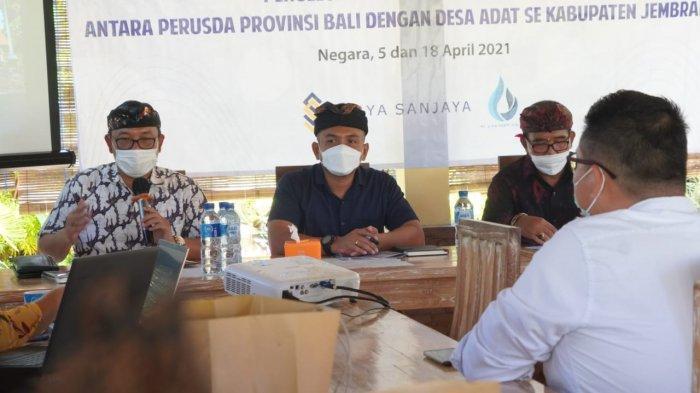 Perusda Provinsi Bali Jajaki Kerjasama Penanggulangan Air Limbah Domestik di Jembrana Bali