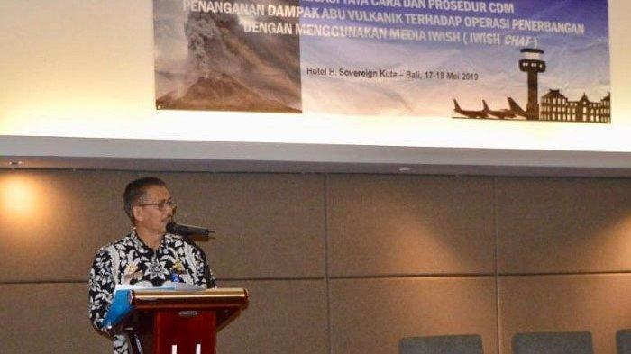 Otoritas BandaraSosialisasikan Prosedur A-CDM Penanganan Dampak Abu Vulkanik Menggunakan IWISH