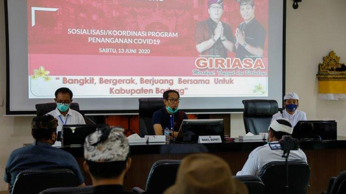 Sosialisasi Program Penanganan Covid-19, Badung Lebih Cepat Eksekusi Bantuan Dibanding Daerah Lain