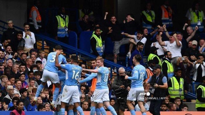 Ini Taktik Ampuh Guardiola Tumbangkan Chelsea di Stamford Bridge, Gabriel Jesus Bawa Man City 3 Poin