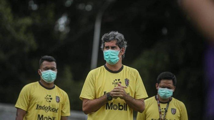 Teco Ungkap Pemain Pengganti Diego Assis, Tunggu Kabar Manajemen Bali United