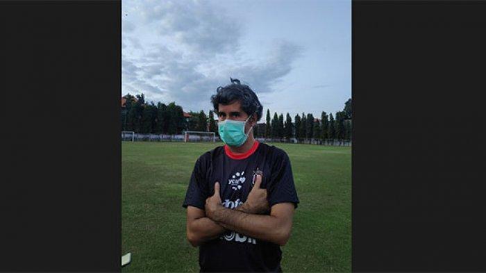 Pelatih Bali United Teco Tanggapi Wacana Perpanjang PPKM Darurat Enam Minggu