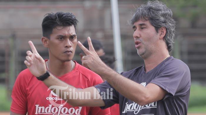 Pelatih Bali United Teco Kantongi Kekuatan Lawan di Piala AFC