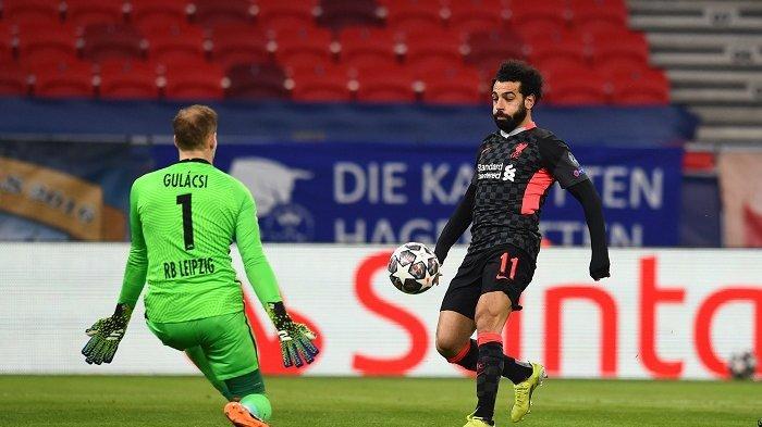 Update Hasil Liga Champions, Liverpool Libas RB Leipzig 2 Gol Tanpa Balas, Salah Torehkan Rekor Ini