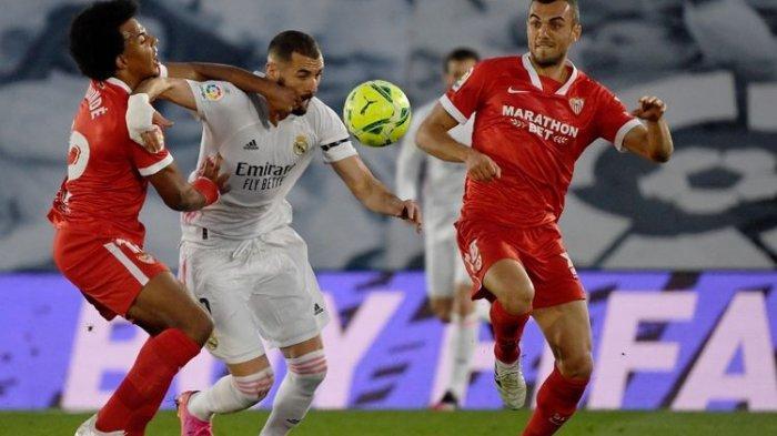 Real Madrid Vs Sevilla, Madrid Gagal Kudeta Atletico, Berikut Hasil dan Klasemen Liga Spanyol