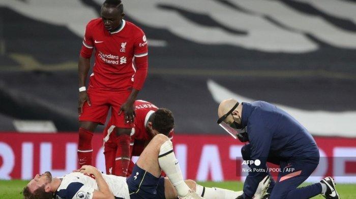 Hasil Liga Inggris, Kesialan Tottenham Saat Kalah dari Liverpool, Mourinho Sampaikan Kabar Buruk Ini